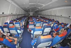 Самые популярные места в самолете