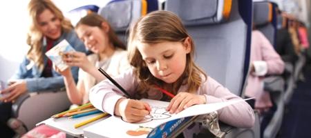 Перевозка детей в самолетах