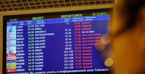 Расписание самолетов Шереметьево