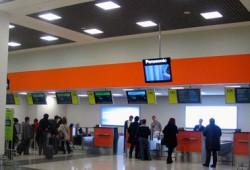 Табло аэропорта Шереметьево
