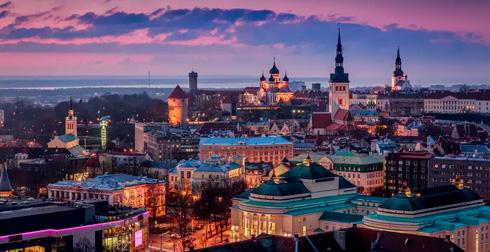 Москва Таллин расстояние на машине